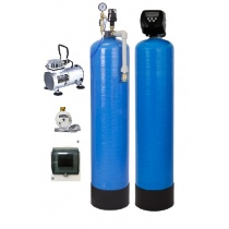 Aeration equipment 1465 CLACK WS1.25 with oil-free compressor and pulse counterсчетчиком