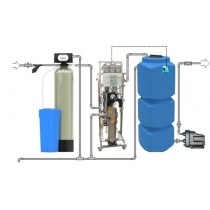 Reverse osmosis for a private house for 1-2 people